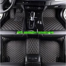цены custom made Car floor mats for Honda Accord CRV XRV Odyssey Jazz City crosstour S1 CRIDER VEZEL Auto accessories auto styling