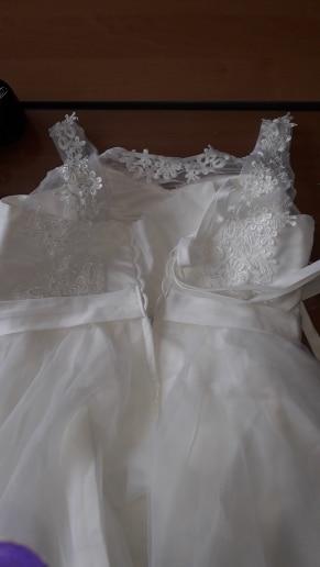 Summer Graduation Gown Lace Dress Women Bowknot Mesh Dress Bridesmaid'S Gown Slim Party Dresses Vestidos 4 Colors photo review