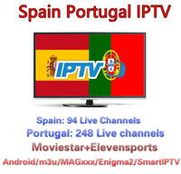 1 Year Portugal IPTV Subscription With 600 + Europe Spain Portugal LiveTV and VOD Latin Channels For Android TV Box smart tv