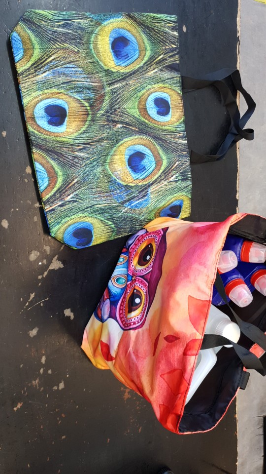 Soft Foldable Tote Women Shopping Bags Large Shoulder Bag Lady Handbag Pouch Zipper Closure Eco Reusable Shopping Tote Pocket photo review