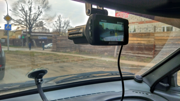Marubox M600R Автомобильный видеорегистратор Комбо-устройство 3 в 1 : Видеорегистратор радар-детектор и GPS-информатор Запись Super HD 1296P Обновленные базы радаров ОбнаружениерадаровтипаСтрелка Робот Автодория