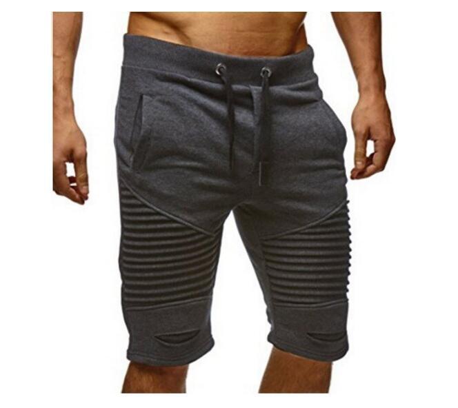 PADEGAO Mens jogger Beach shorts Cotton Bodybuilding Sweatpants Fitness Shorts elastics waist hiphop joggers trousers 3XL