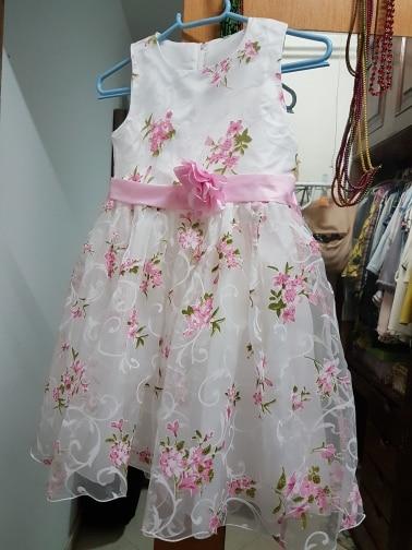 Summer Flower Girl Dresses 2018 New Floral Children Ball Gown Wedding Party Clothing Kids Dress for School Girl Kid robe fille