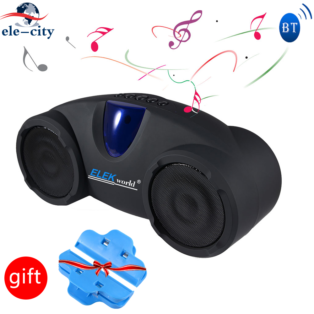 $39.99 Outdoor Fashion Hifi Wireless Bluetooth Stereo Speaker Subwoofer Sound System Bass Music Player Sound Box FM Radio For iPhone