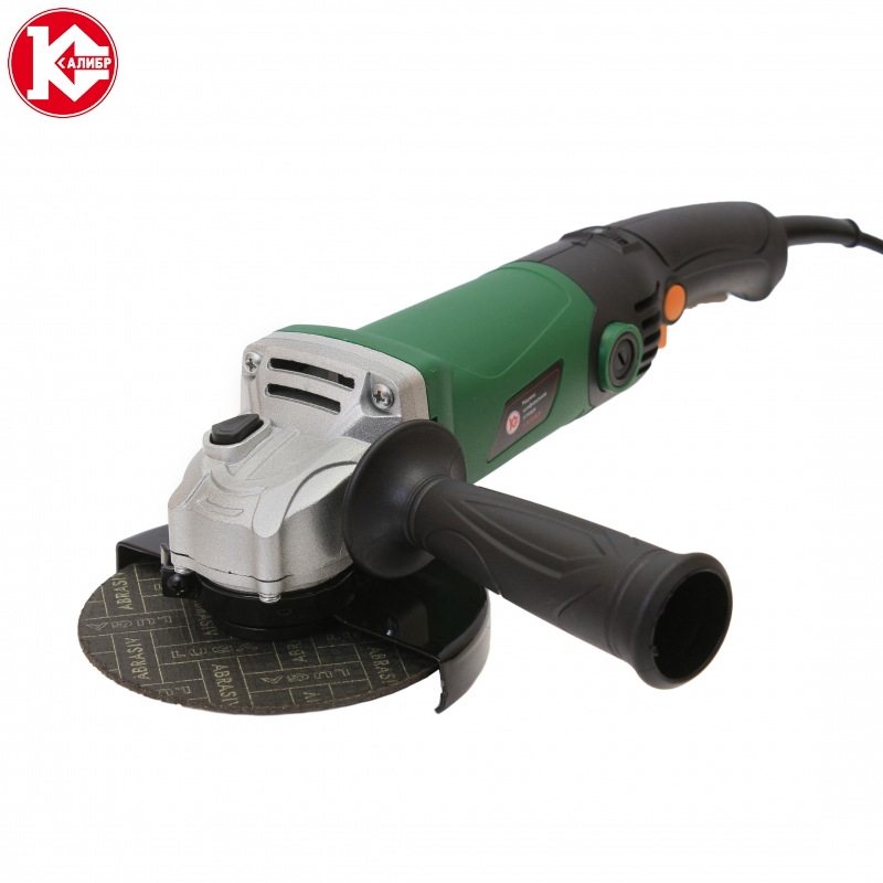 Angle grinder Kalibr MSHU-125/955E (disc 125 mm, 950 W, Variable speed) electric tool angle grinder kalibr mshu 125 1200e disc 125 mm power 1200 w angular power tool for grinding and cutting metall