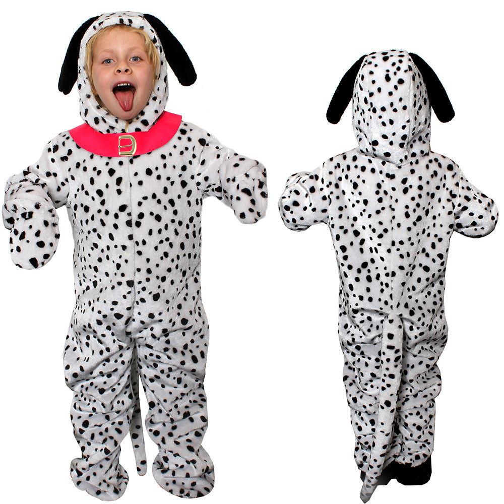 Dalmation Ears Headband Fancy Dress Outfit Floppy Spotty Dog Soft Costume NEW UK