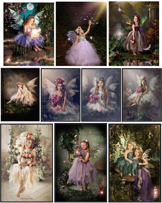 Embroidery Counted Cross Stitch Kits Needlework - Crafts 14 Ct DMC DIY Arts Handmade Decor - Enchanted Fairy