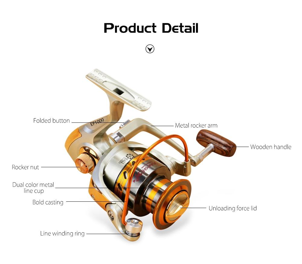 12BB Ball Bearing Fishing Reel Wheel Metal Spool Carp Wheel Saltwater High Speed