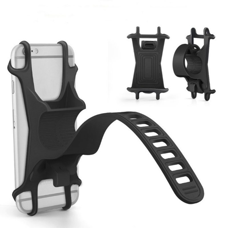 Adjustable Bike Mobile Phone <font><b>Holder</b></font> Universal 3.5-6.2 inch <font><b>Smartphone</b></font> For <font><b>Bicycle</b></font> Shopping cart Baby carriage Motorcycle Stand image