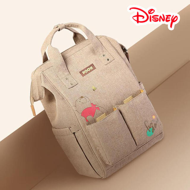 Disney Mickey Minnie Winnie The Pooh Bear Best Diaper Bag Baby Bag Backpack  Mummy Maternity Care Large Capacity Nappy Bag-in Diaper Bags from Mother    Kids ... 2edc6ada1d0d