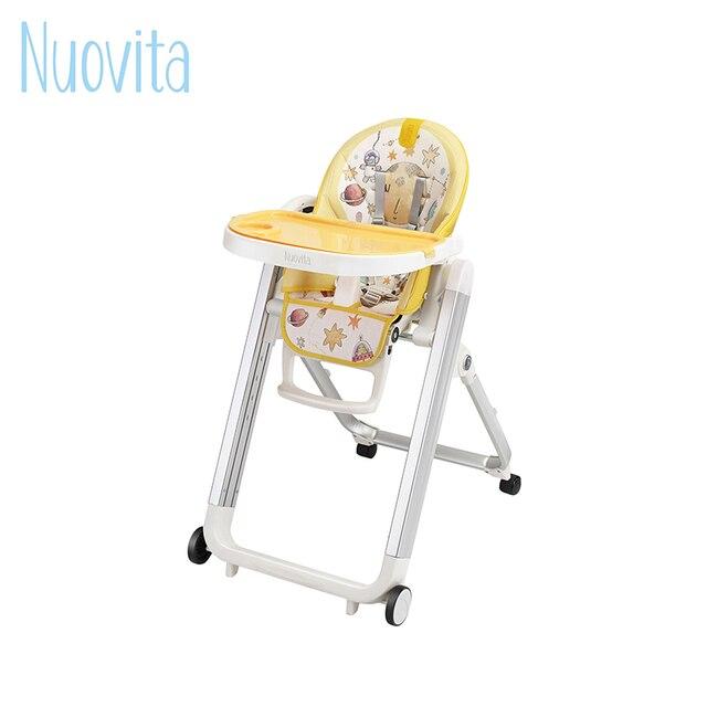 Стульчик для кормления Nuovita Futuro Senso Bianco с принтом