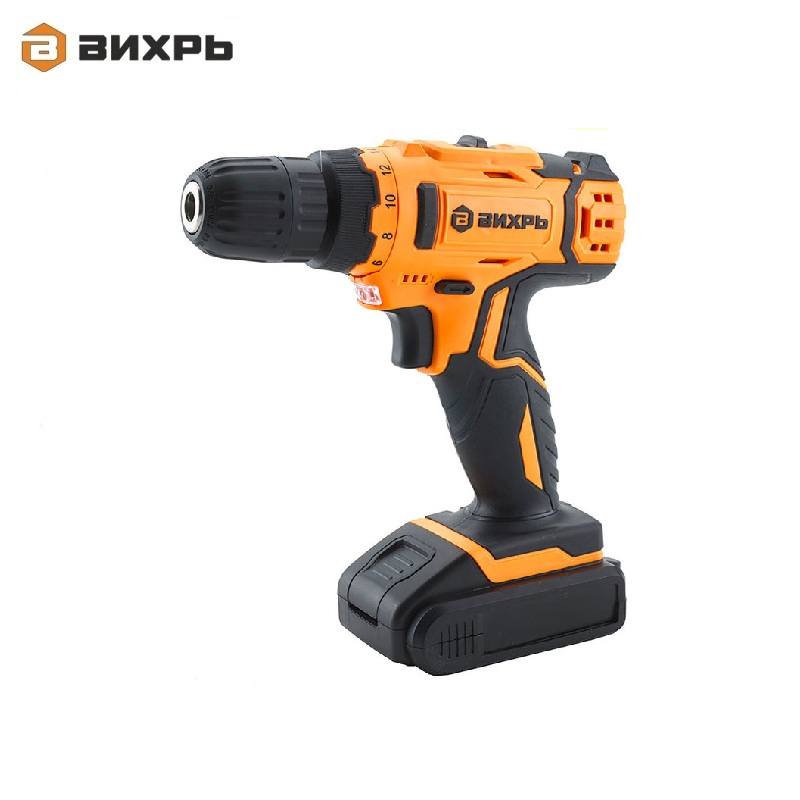Cordless drill driver VIHR DA-24L-2K Accumulator screwdriver Screw driver Battery-powered drill Hand drill cordless drill with battery kalibr da 514 2 screw driver power tools mini drill