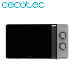 Cecotec Microwave ProClean 3010 Capacity of 20 Liters Powerful 600W Technology 3DWave Timer Elegant design Easy to Use and Clean