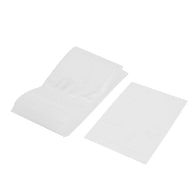 "UXCELL 100 Pcs 3.5 ""X 5"" Selo 2Mil Pequeno Zip Bloqueio Reclosable Plastic Bags Poly Limpar"