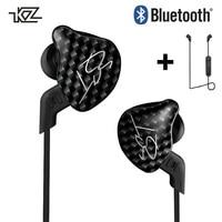 KZ ZST Bluetooth Earphone MMCX Hybrid HIFI DJ Sport Wireless Earbuds In Ear Earphones With No