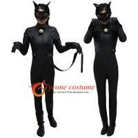 Kids Adult Miraculous Ladybug Cosplay Costume With Mask Ladybug Romper Costume Cat Suit Halloween Women