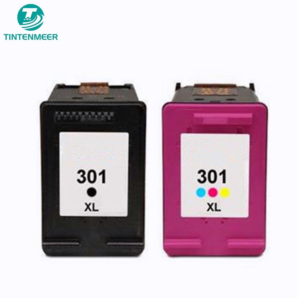 1000 1010 tintenmeer ink cartridge 301 compatible for hp deskjet 1000