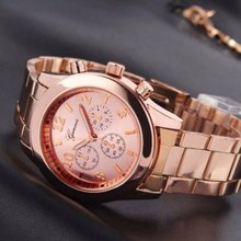 Fashion Rose Gold Watch Women Quartz Watches Ladies Top Brand Luxury Female Wrist Watch Girl Clock Stainless Alloy Strip Watch mige real top brand luxury casual fashion ladies watches white leather rose gold case female clock quartz waterproof women watch