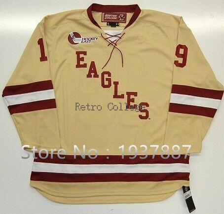 Game Under #19 Armour Chris Kreider Boston College 2010-2011 Jersey Rangers Customize any name number and size
