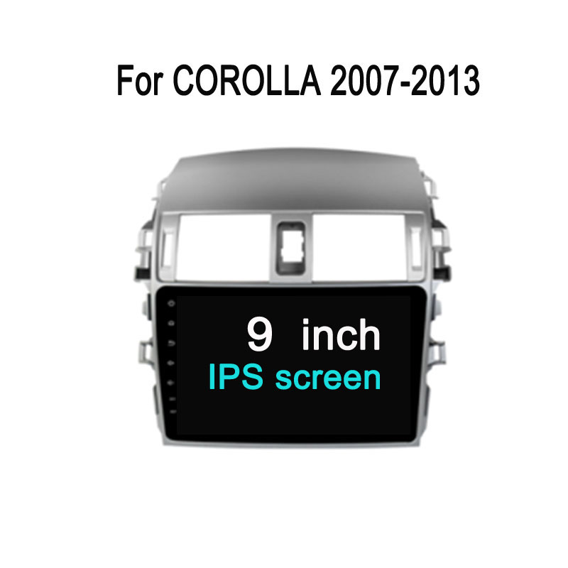 Octa Core 10.2 Android 7.1 Fit Toyota Corolla 2007 - 2009 2010 2011 2012 2013 Car DVD Player Navigation GPS Radio