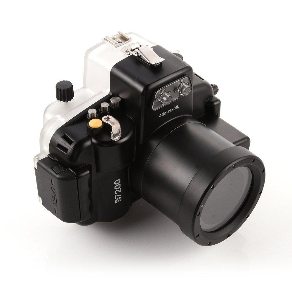 Seafrogs 40M Waterproof Diving Underwater Camera Housing Case for Nikon D7200 Camera 18 55mm