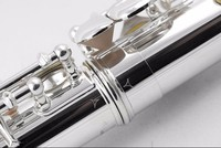 New 211SLflute musical instrument 16 over E Key Silver C Tune Flute music professional With case shipping