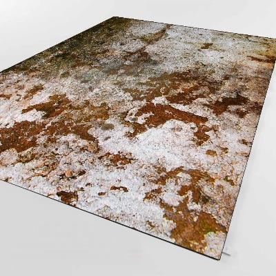 Else Brown Gray Vintage Aging Old Wall Design 3d Print Non Slip Microfiber Living Room Decorative Modern Washable Area Rug Mat