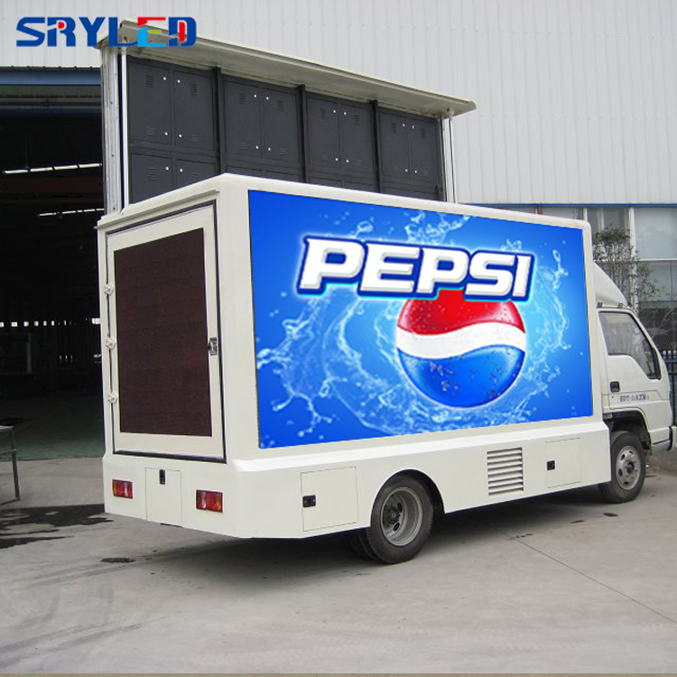 Full Color Hd Big Mobile Advertising P10 Truck Outdoor Led Display Screen