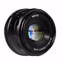 Meike MK-EM-35-1.7 35mm f 1.7 Large Aperture Manual Focus lens APS-C For Canon EOS-M Mirrorless DSR DSLR cameras Lenses