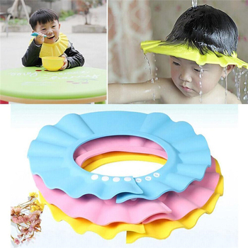 Adjustable Shower Bath Visor Shield Wash Hair Cap Shampoo Resistance Protect Ear Eye Hat Baby Children Kids Infant baby Bath