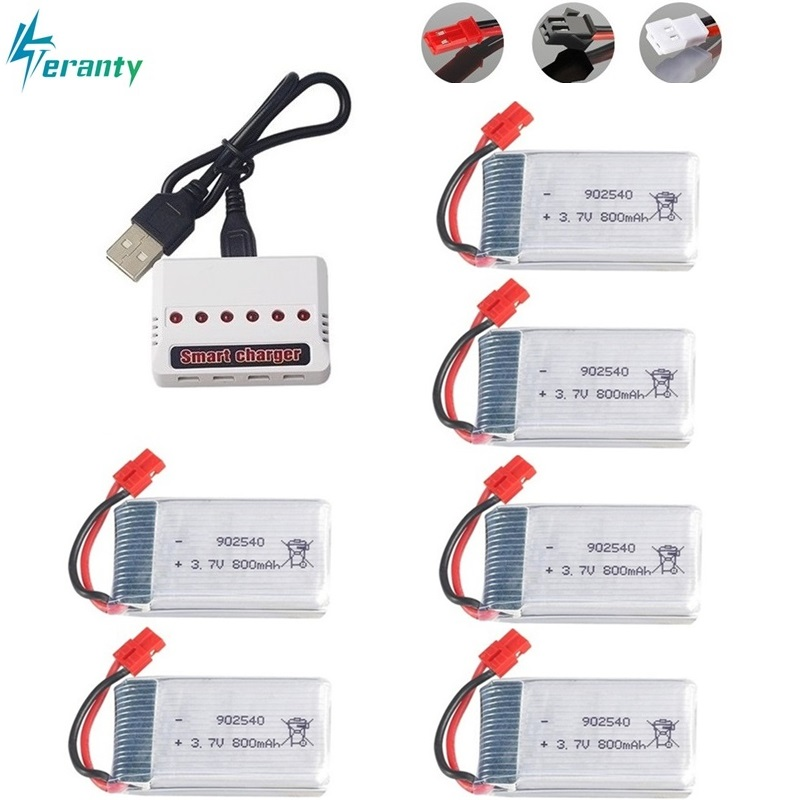3.7V 800mAh 25c Lipo Battery and Charger for Syma X5 X5HC X5HW X5UW X5UC 3.7v X5 Battery RC Quadcopter Drone Spare Part 902540 цена 2017