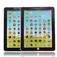 2018 New Modern Design Multi-functional Pad For Kid Children Learning English Chinese Educational Computer Mini Tablet Teach Toy