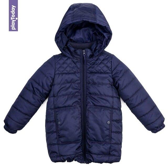 Пальто утепленное PLAYTODAY для девочек 372051