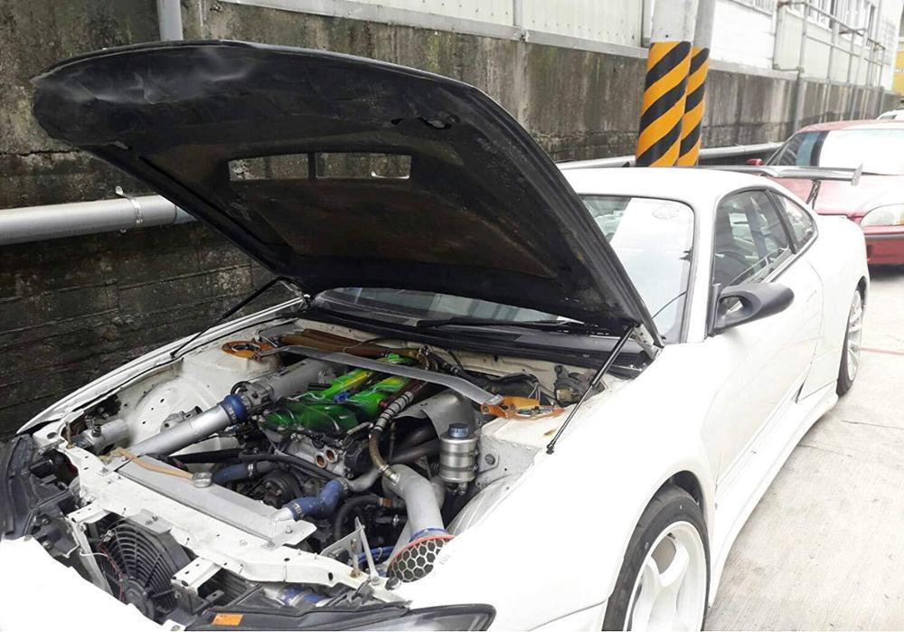 Pour Nissan Frontier Navara pour Suzuki Equator D40 2004-2018 2x capot avant capot capot modifier vérin à gaz Support de levage amortisseur