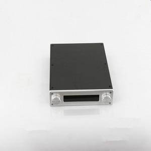 Image 2 - BZ2206A châssis amplificateur de boîtier de préampli en aluminium Mini boîtier dampli HiFi pour carte de Volume de commande à distance JV13