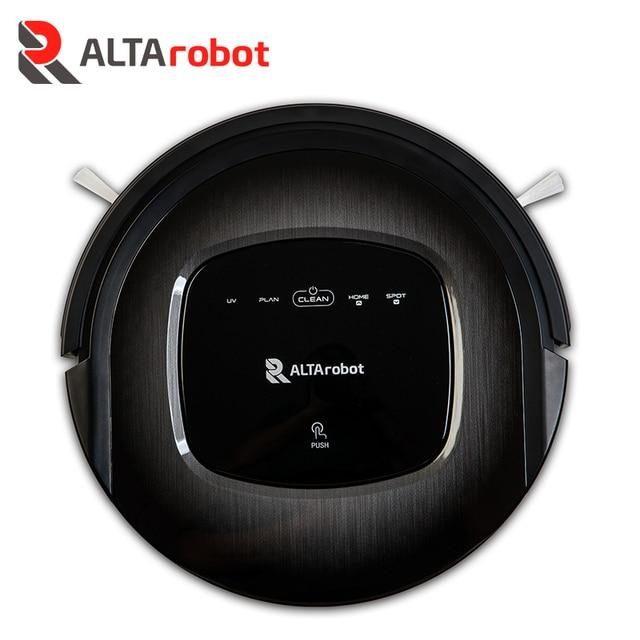 ALTArobot B350 Робот-пылесос, Сенсоры препятствий, Голосовые сообщения, Автоматический возврат на базу, УФ-лампа, Пульт ДУ