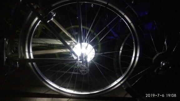 Luz de bicicleta Bicicleta Decoração Ciclismo