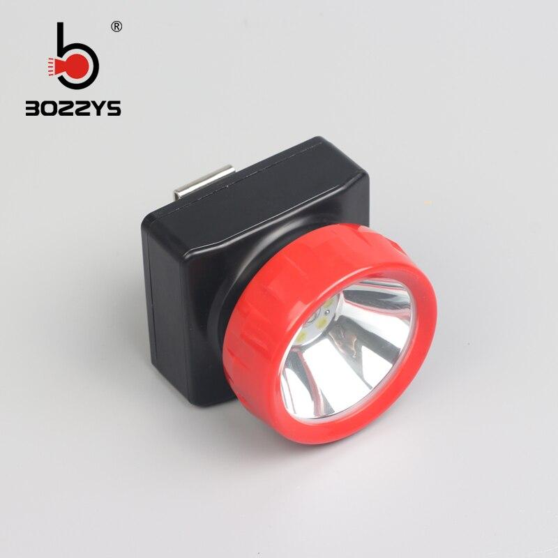 Βιομηχανικά ορυκτά LED προβολείς λιθίου 1w Κύριες και βοηθητικές πηγές φωτός μπορούν να συνδεθούν Με το φορτιστή BK800