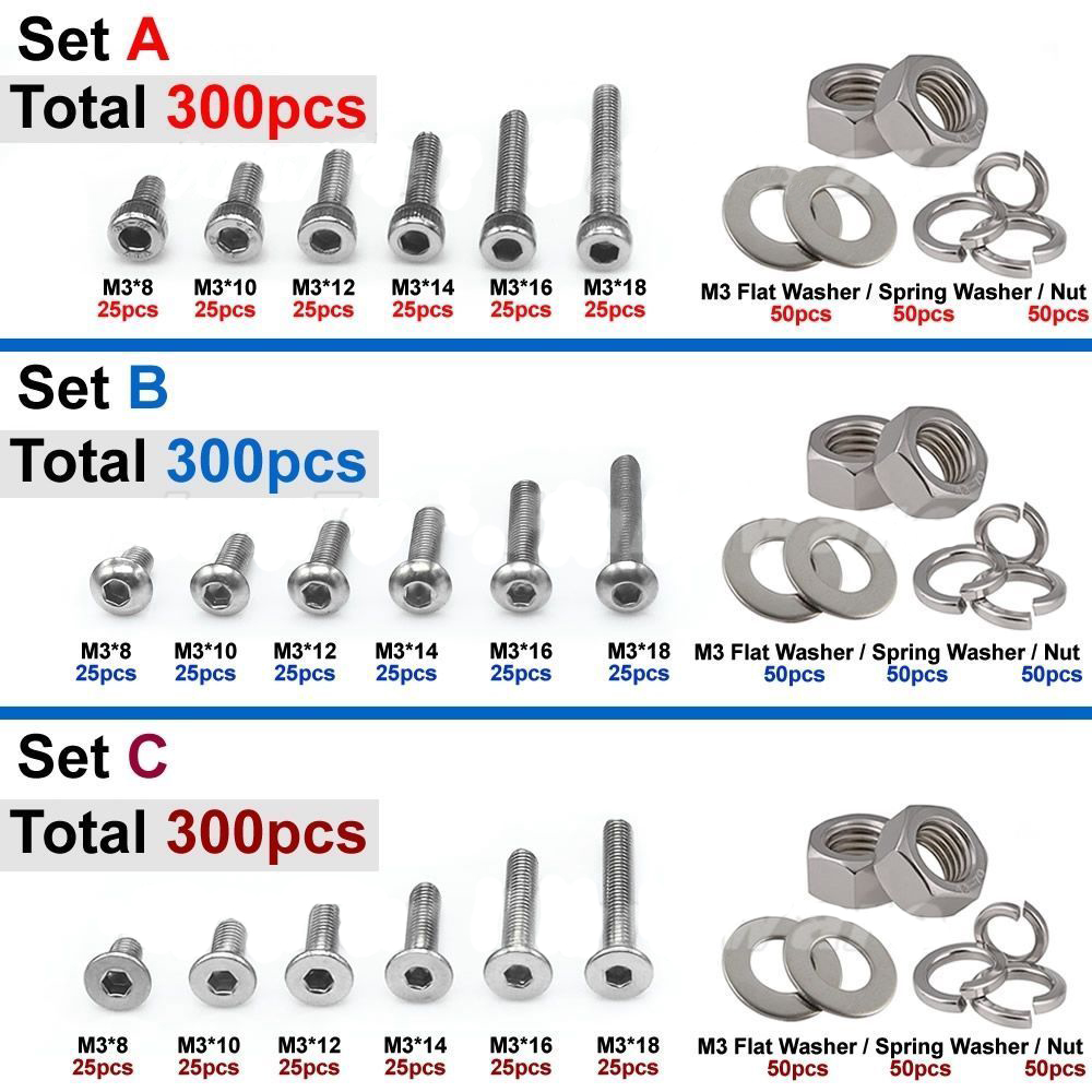 nuts bolts and washers /& Storage Box Over 1000 assorted SAE and metric screws