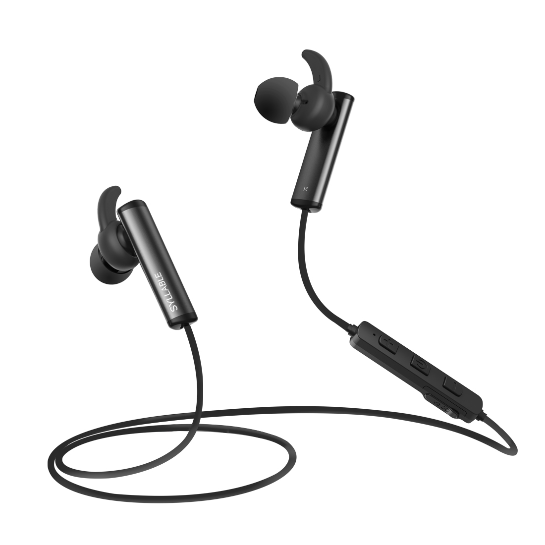 SYLLABLE D300L In-ear Bluetooth Earphone V4.1 Wireless Sports Earphone Earbuds with Mic Stereo Headset for Iphone for Android