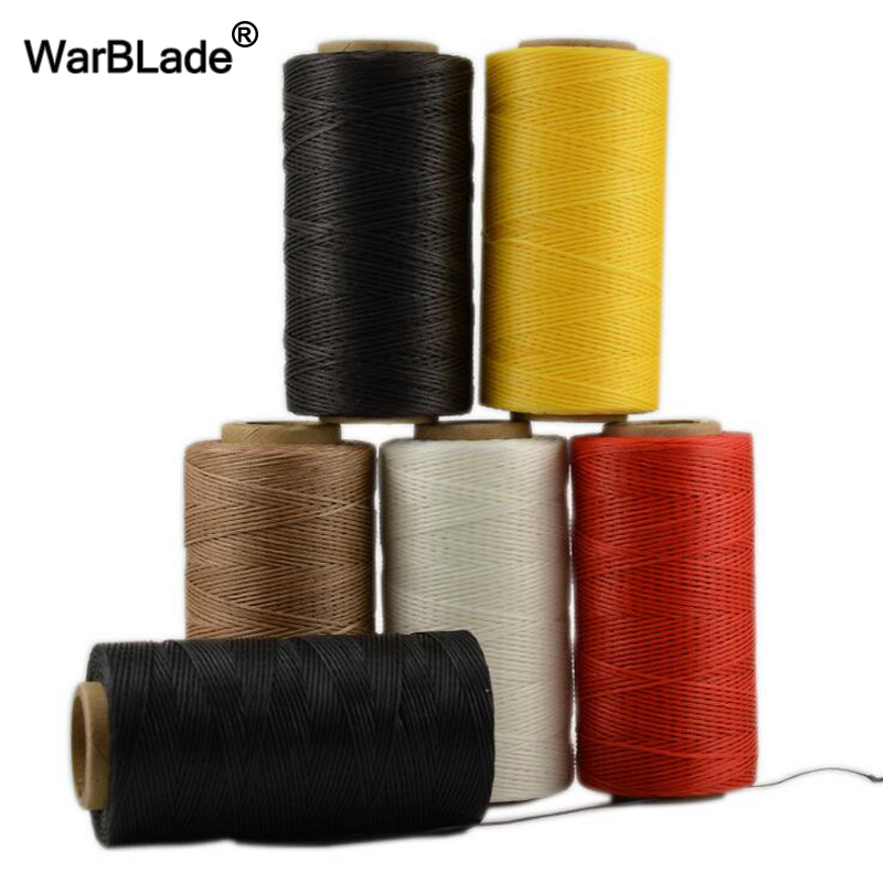 20 Color 260m 1mm Waxed Cord Polyester Thread Sewing Threads For Shoes Luggage Jewelry Making Wholesale
