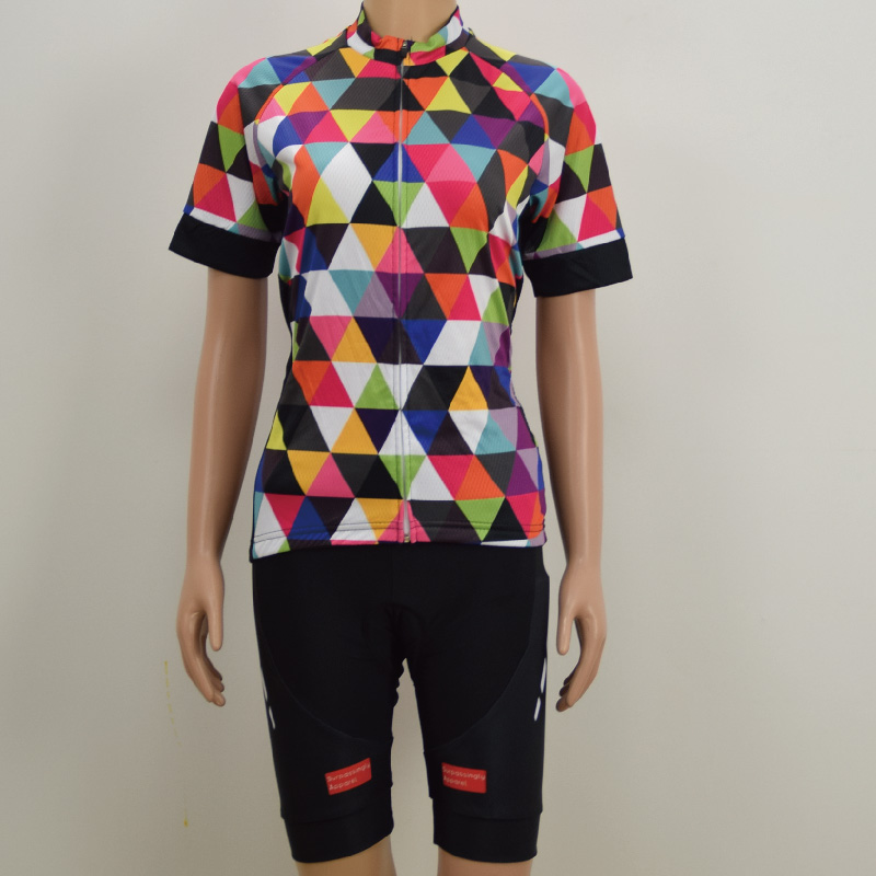 Custom Polyester Summer Short Sleeve Bicycle Cycling Jersey Set Cycling Clothing Bicycle Clothes Sportswear Ropa Soft Bike Wear
