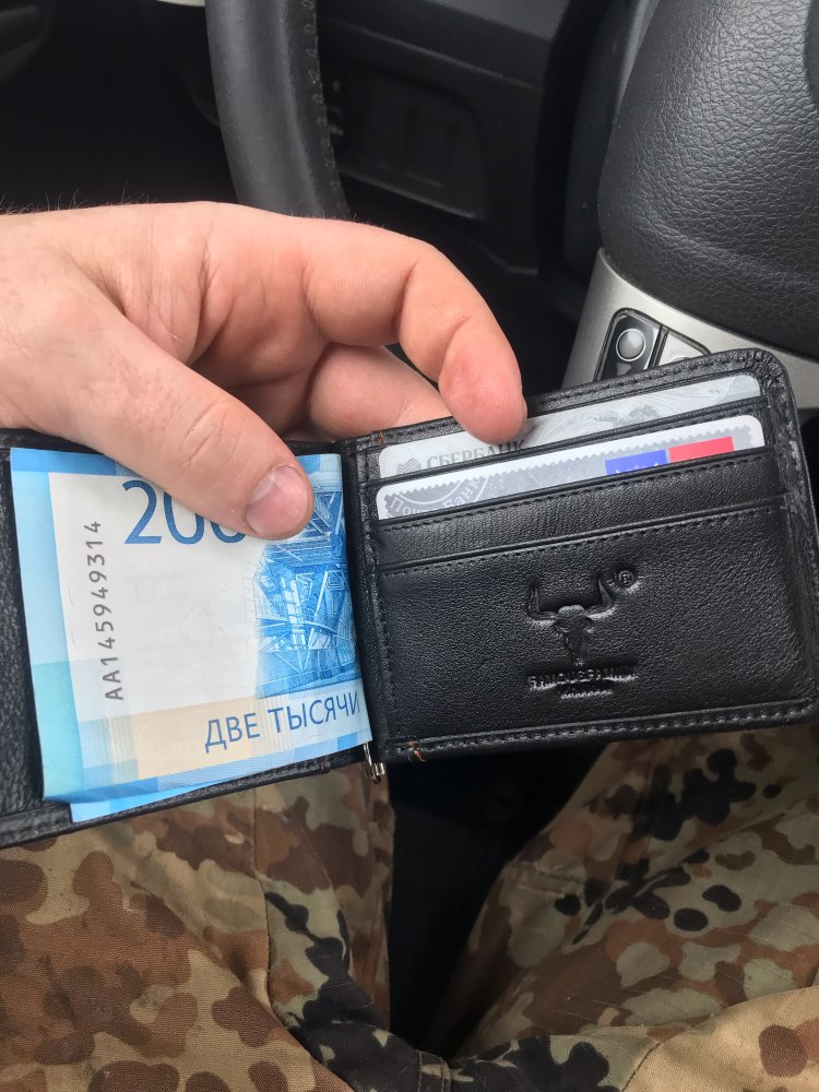 Mens Money Clip Wallet Genuine Leather Money Clips Super Thin Cash Holder Front Pocket Men's Wallet with Clip Card And Wallets photo review