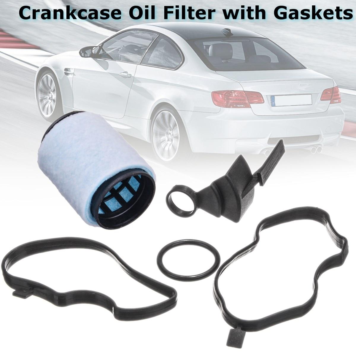 #11127793164 фильтр-сепаратор масла Картера с прокладками для BMW E46 E53 E60 E87 E90 E83 E91 E39 E61 X3 X5 1998-2012