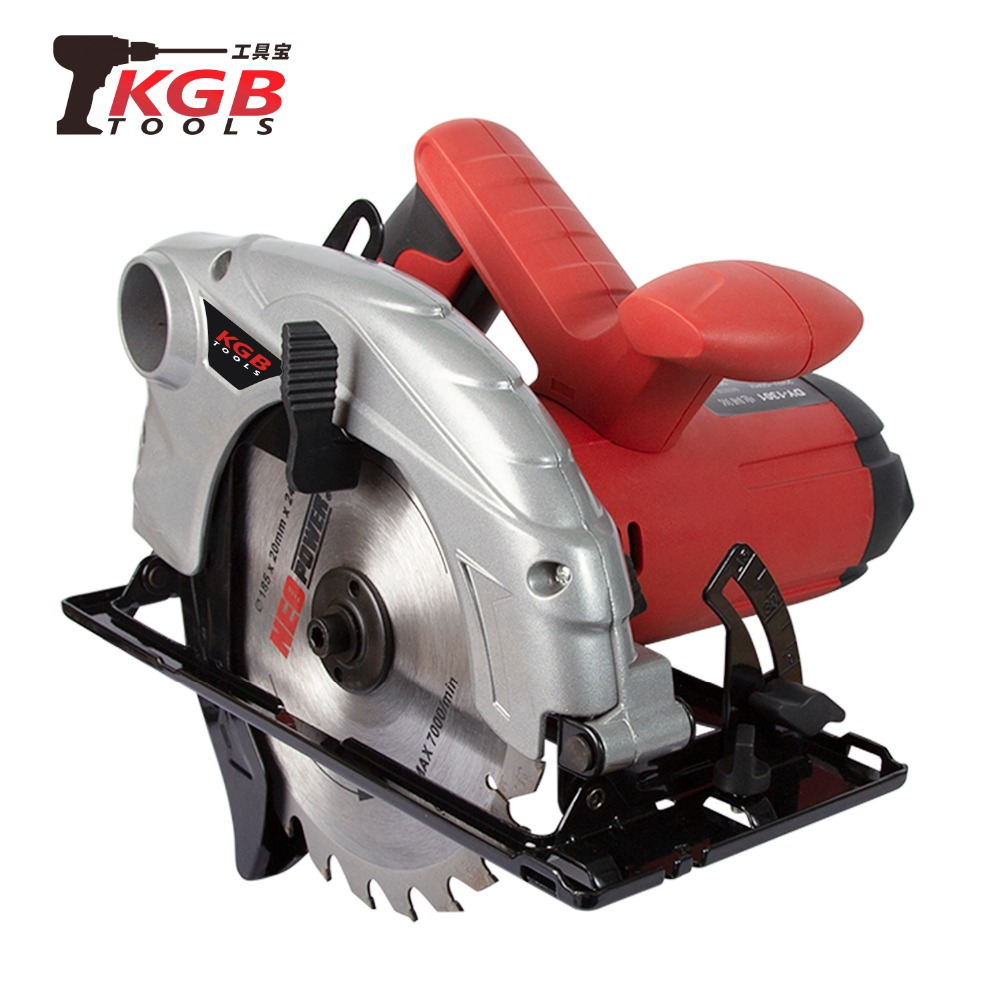 KGB 7 inches Circular Saw 230V with blade 185mm x 20mm x 24T for wood