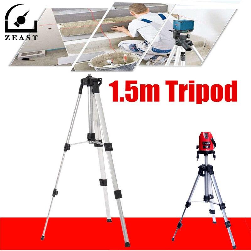 1,5 m Stativ Für Laser Ebene Automatische Selbst 360 grad Nivellierung Messen Gebäude ebene Bau Marker Werkzeuge