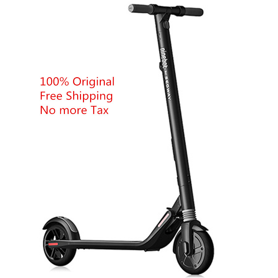 Free Shipping Original ES1 / ES2 No. 9 Folding Electric Scooter with 5.2Ah Battery 8 / 7.5 inch Tire from Xiaomi Mijia free shipping 120 inch 16 9 electric metallic