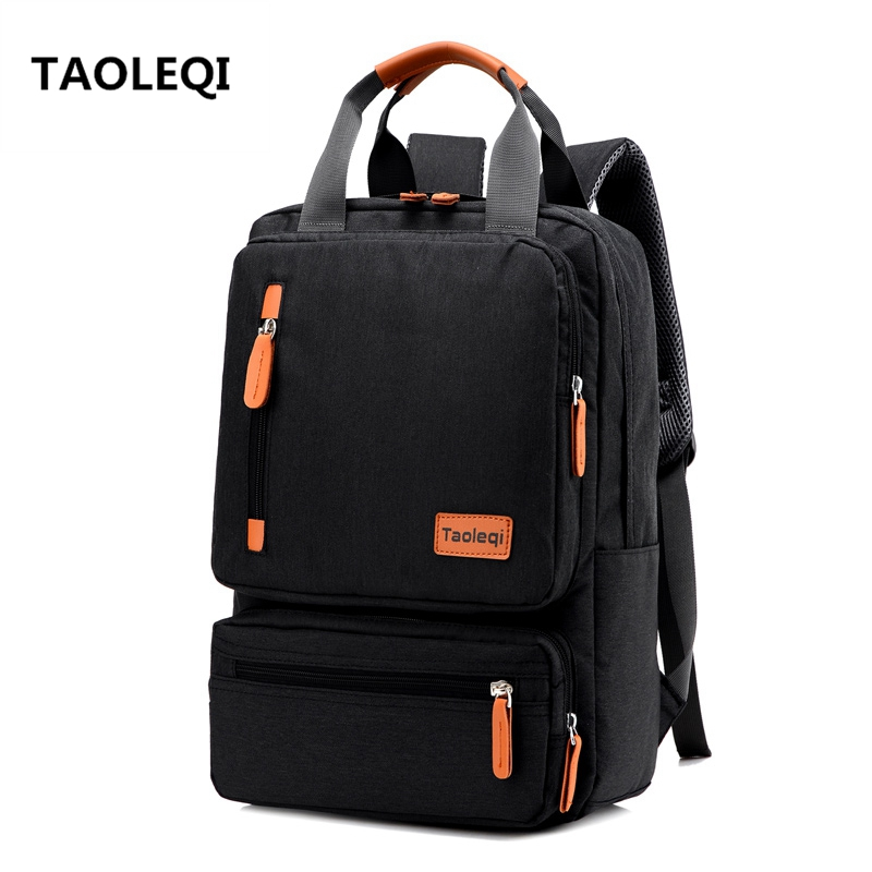 Anti-theft Men's Nylon Backpacks 15.6 inch Laptop Backpack Male Leisure Travel Rucksack Black Women School Bags Mochila Feminina new canvas backpack travel bag korean version school bag leisure backpacks for laptop 14 inch computer bags rucksack