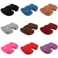 45x35CM U Shape Seat Cushion Memory Foam Butt Shaping Super Toy Sofa Cushion Soft Plush Case