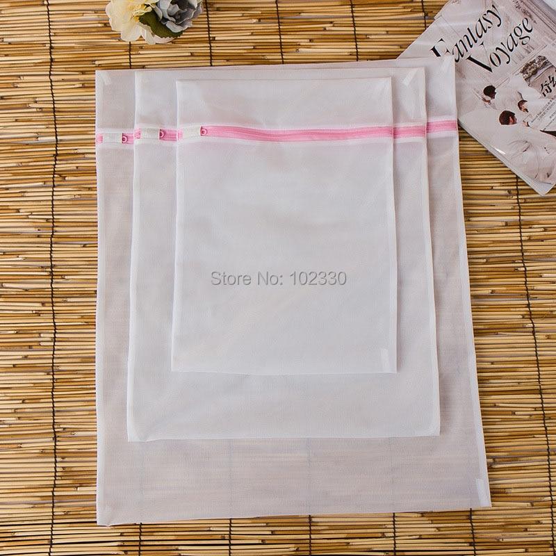 200sets S/M/L Practical Clothes Wash Bag Pouch Basket Washing Machine Laundry Bra Aid Lingerie Mesh Net Wholesale